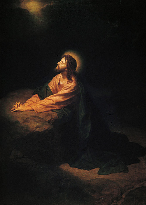 christ in gethsemane 1